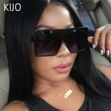 Big Frame Gradient Shades Oversized Sunglasses Square Brand