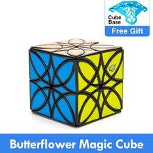 New Design LanLan Butterflower Magic Cube Puzzle 5.7cm Cubo Magico Xmas gift idea Game Specail Shape Educational Toys Children