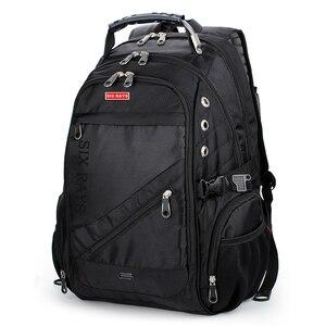 Image 2 - 2020 Hot Sale Mens Travel Bag Man Swiss Backpack Polyester Bags Waterproof Anti Theft Backpack Laptop Backpacks Men Brand bags
