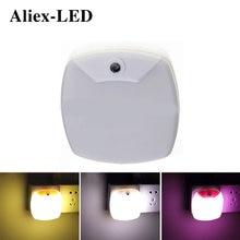 Новый светодиодный Ночной светильник с датчиком управления лампа