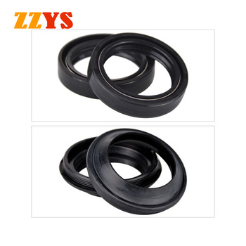 41x54x11 41 54 11 NBR Fork Damper Oil Seal and 41x54 Dust Cover Lip For Honda XL600V Transalp XL600 XL CBR 600 CBR600RR CBR600 image
