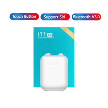 i11 TWS Mini 5.0 Bluetooth Earphone Wireless Headphones Touch control Portable Invisible Earbud for xiaomi Iphone Smart Phone