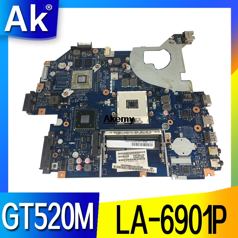 LA-6901P Laptop motherboard For Acer 5750 5750G 5755 5755G mainboard GT520M image
