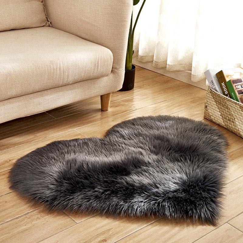 Artificial Wool Sheepskin Baby Room