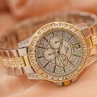 Reloj Mujer Gift Hot Sell Women's Bracelet Watch Woman Luxury Brand Stainless Steel Dial Quartz Wristwatches Ladies Watch