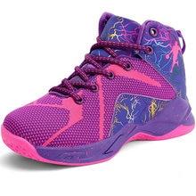 Брендовые баскетбольные кроссовки для девочек; Нескользящие