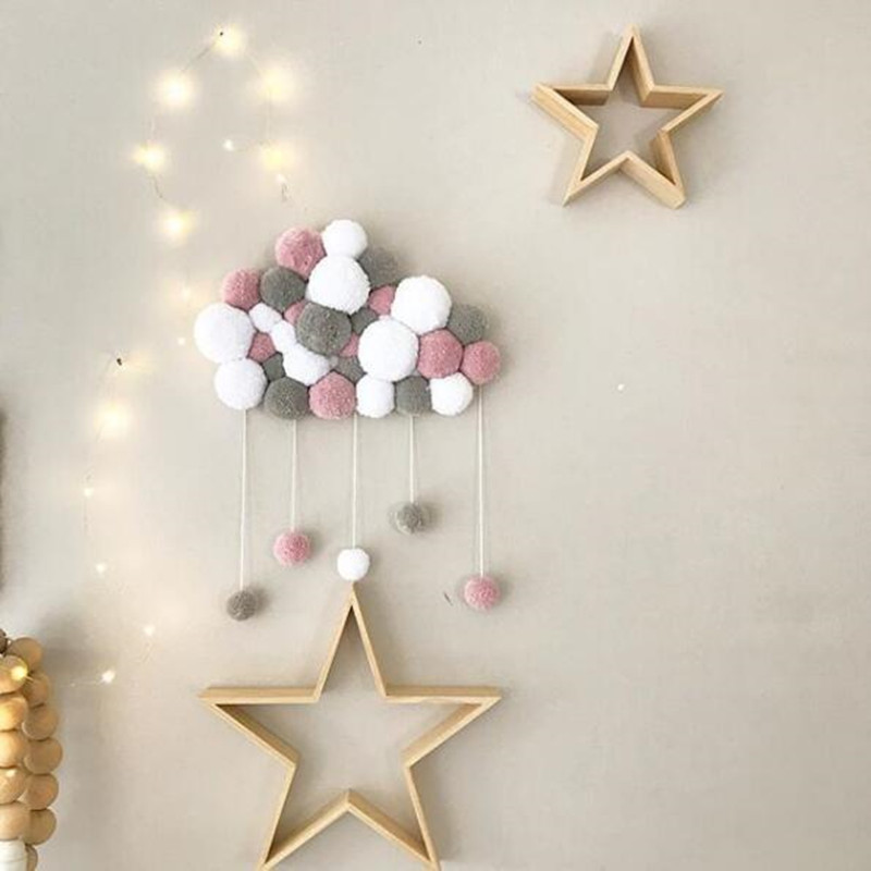 do bebê decoração vento estrela bola brinquedos