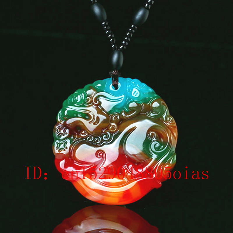 1pc Natural Color Hetian Jade Stone Dragon Pendant Chinese Jadeite Jewelry Charm Reiki Pixiu Amulet Hand Carved Gifts For Women