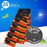 Cr2016 20 piezas batería original a estrenar para Energizer 3v pila de botón baterías para reloj ordenador cr 2016 reloj adecuado Pilas tipo botón     -