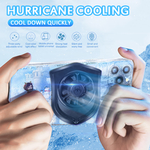 Mobile Phone Radiator Gaming Universal Phone Cooler Portable Fan Holder Heat Sink For IPhone Samsung Huawei Rapid Cooler