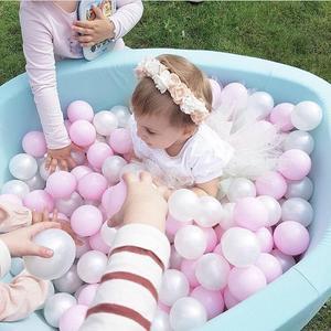 Image 2 - 어린이 공 구 덩이 뜨거운 어린이 펜싱 놀이터 부드러운 라운드 어린이 공 수영장 실내 보육 놀이 아기 유아 방에 대 한 장난감 선물