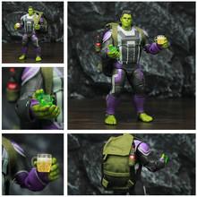 Marvel Avenger 4 Endgame Hulk Quantum garnitur 8 20 cm figurka film robert bruce Banner legendy oryginalne ZD zabawki lalki tanie tanio JAXTOY Model Żołnierz gotowy produkt Wyroby gotowe Unisex About 20cm Zachodnia animiation Pierwsze wydanie Zapas rzeczy