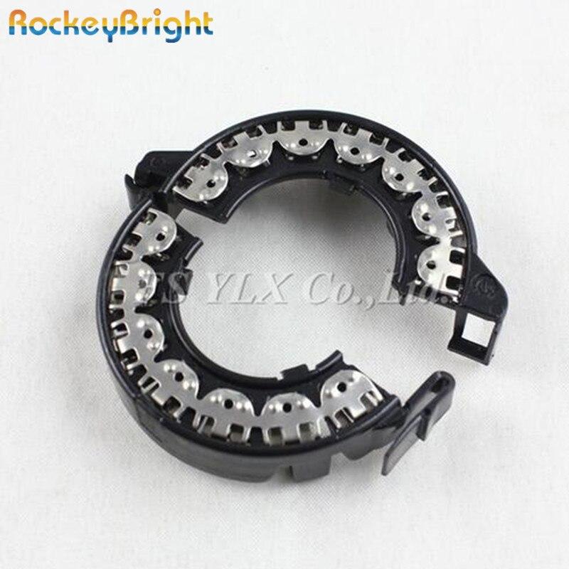 Rockeybright 2pcs d1s d2s xenon адаптер держатель металлический черный hid лампы D1S D2S основание держателя переходника