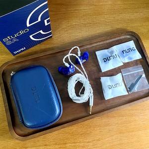 Image 5 - Dunu studio sa3 3ba triplo driver in ear monitor fone de ouvido iem com crossover de 2 vias 2pin 0.78mm cabo removível 3d impresso
