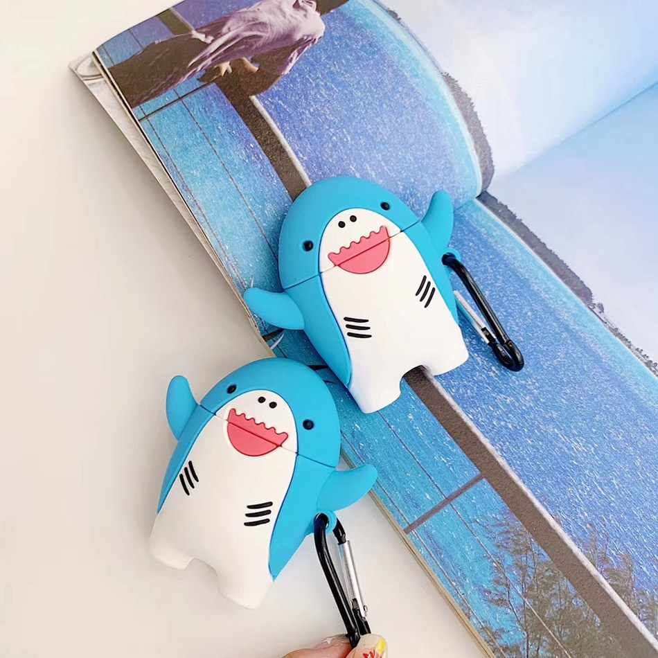 イヤホンケース Airpods ため 2 ケースシリコーンチョコレートかわいい漫画カバーためのポッドヘッドホンケース earpods リングストラップ