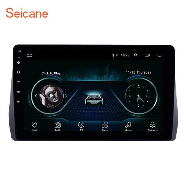 Seicane Radio Multimedia con GPS para coche, Radio con reproductor, Android 10,1, 2 DIN, estéreo para coche, wifi, Bluetooth, para Toyota Wish, 8,1, 2009, 2010, 2011, 2012