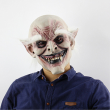 Mens Halloween Party Masks Really Scary Vampire Mask with White Eyebrow