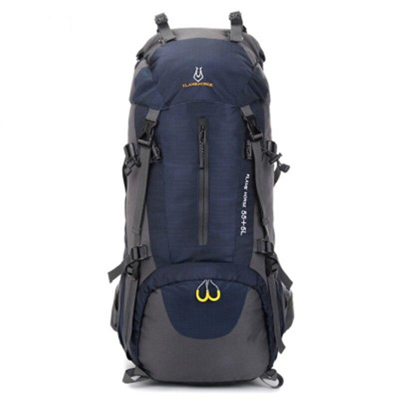 Nouveau sac à dos tactique 60L armée militaire randonnée Camping escalade sac à dos imperméable voyage sac à dos Sports de plein air escalade sac