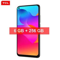 TCL 10L 6 ГБ + 256 ГБ 4000 мАч Android 10,0 смартфон на базе восьмиядерного процессора 6,53 ''HD + 48MP сзади Камера Face ID, функция отпечатков пальцев, 4G, мобильный ...
