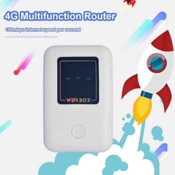 4G Wifi Router Mini Router 3G 4G Lte Wireless Router Portable WiFi Mobile Hotspot Car Wi-Fi Router With Sim Card Slot 4g wifi mini router lte wireless portable pocket wi fi mobile hotspot car wi fi router with sim card slot