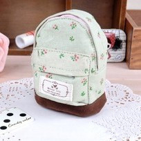 Small Mini Mori Girl Style School Bag Floral Fresh Xiotin Yuan Lovely Pastoral Purse