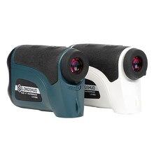 Longshuo ls1200 telescópio range finder laser rangefinder para a caça golfe digital medidor de distância a laser