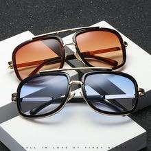 Новые модные солнцезащитные очки с большой оправой, Мужские квадратные модные очки для женщин, высокое качество, Ретро стиль, солнцезащитные очки, винтажные