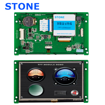 Industrial HMI Touch LCD Module 5.0 inch with Controller Board + Program + TTL RS232 RS485 Port rs485 rs232 ttl usb touch screen panel 4 3 inch lcd module for industrial control
