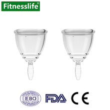 2 шт/упак менструальная чаша леди период медицинский Класс силиконовый