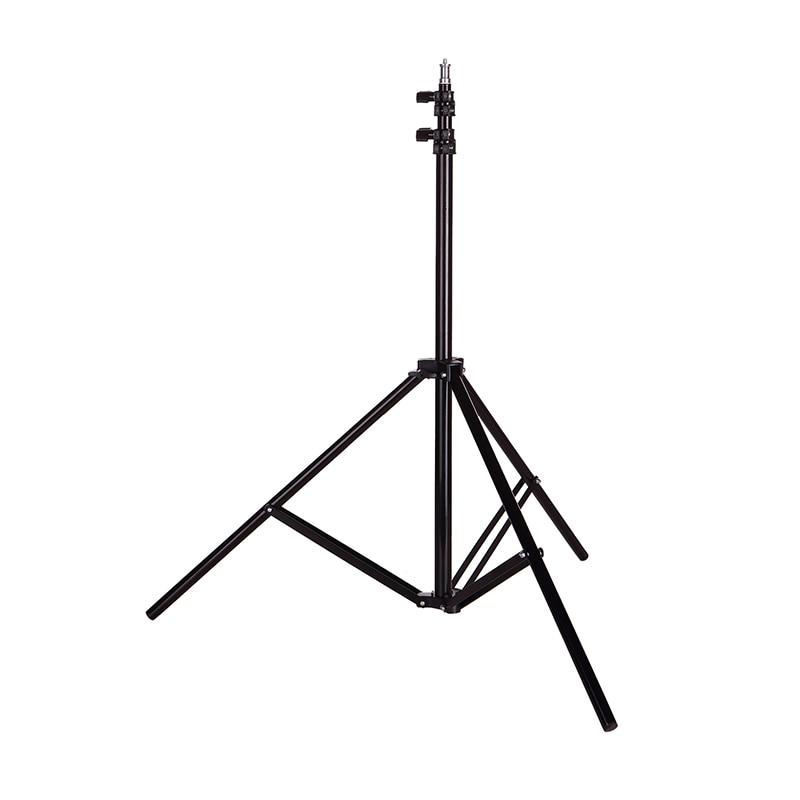 H782e3ed544a84514bde70b9028c581a8t 110 160 200cm Photography Tripod Light Stands For Photo Studio Relfectors Softbox Lame Backgrounds Video Lighting Studio Kits