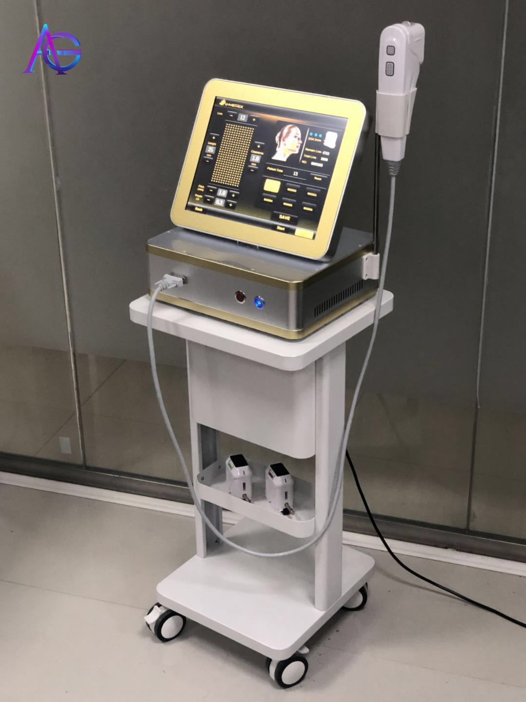 Latest 3D  Korea 12 Lines Machine With 3 Cartridges 1.5/3.0/4.5mm