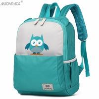 Mjoypack Cute Animal School Bags for Girls Boys Children Backpacks Kindergarten Schoolbags Fashion Kids Bag Owl Toddler Backpack