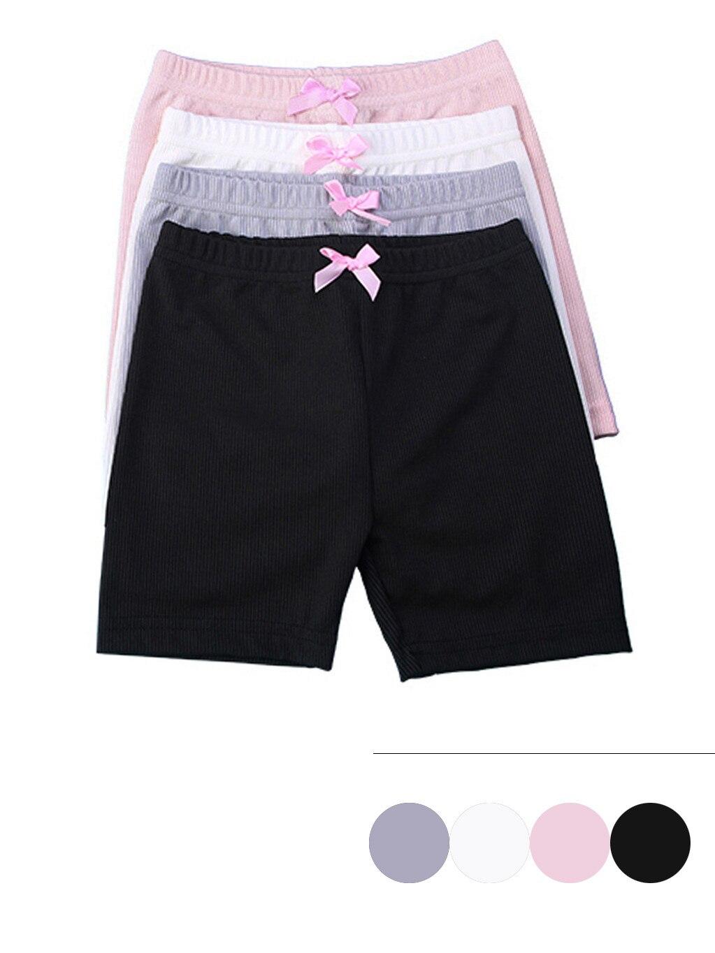 Хлопковые спортивные шорты с эластичным поясом для малышей, 4 шт.