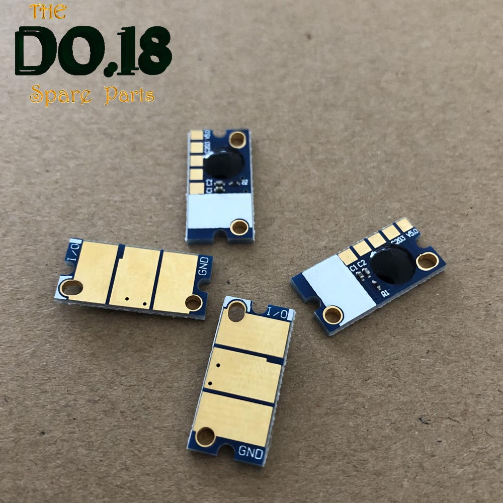 4 Pieces Eur Reset Toner Chip For Konica Minolta Magicolor 1600 1600w 1650 1650en 1680 1680mf 1690mf 1690 Toner Cartridge Chip Printer Parts Aliexpress