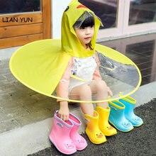 Детский дождевик regenjas kinderen непромокаемый плащ для детей