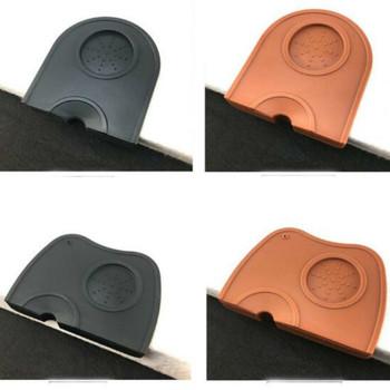 Instrukcja młynek do kawy z podkładka silikonowa ubijania mata profesjonalnego przygotowania kawy Espresso ingerencji osób niepowołanych w działanie Latte Art długopis sabotaż uchwyt do domu do kawy WF919 tanie i dobre opinie CN (pochodzenie) Z gumy silikonowej