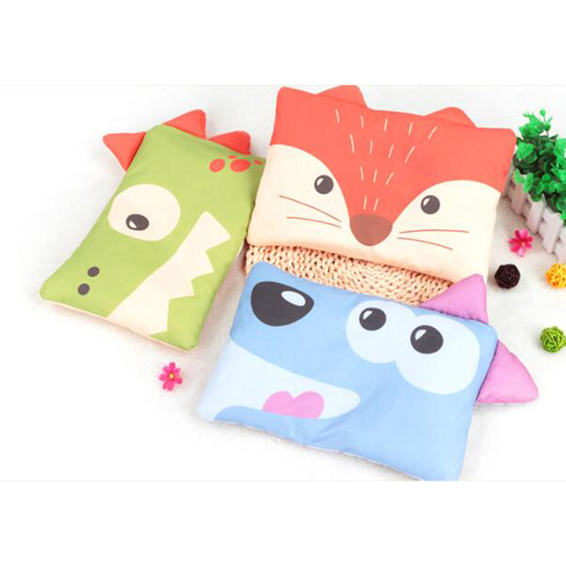 Cartoon Animals Baby Pillow Newborn Sleep Support Pillow Toddler Pillow Cushion Prevent Flat Head Baby Pillows