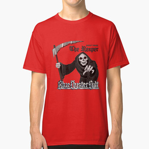 Blue Oyster Cult : Don't Fear The Reaper T Shirt Blue Oyster Cult Reaper Dont Fear The Reaper Classic Rock Rock Music(China)