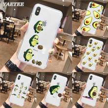 Funny Avocado Phone Case for iPhone 11 Pro X XR XS MAX SE 2020 11 7 8 Plus 6 6s 5 5s 7+ 8+ TPU Soft Cover lavaza ybn nahmir soft case for apple iphone 6 6s 7 8 plus 5 5s se x xs max xr tpu cover