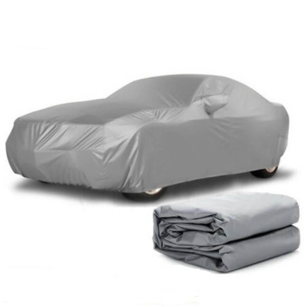 Car-Cover Sunscreen Universal Rainproof Peva Single-Layer