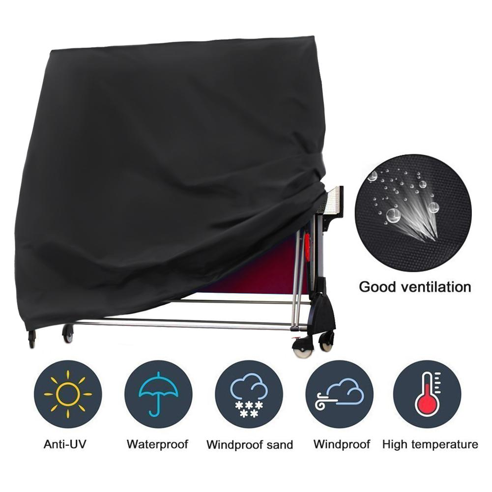 210T Oxford Cloth Table Tennis Table Covers Outdoor Waterproof Dustcover