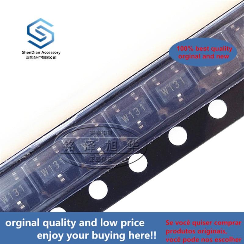 5pcs 100% Orginal New WSH131-XPCN3 Silk-screen W131  SOT-23 Hall Switch Real Photo