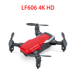 LF606 Drone Camera FPV Quadcopter Foldable RC Drones HD Altitude Hold Mini Drone Children Kid Toys RC Helicopter APP Controller