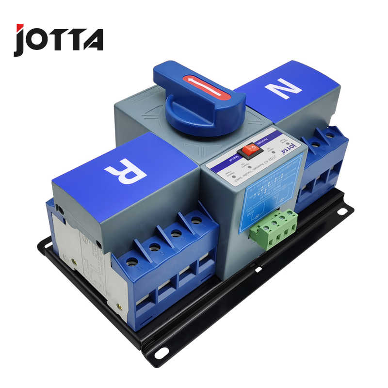 JOTTA 4P 63A 380V ATS MCB typ Dual-Power-Automatic Transfer Switch Ändern Über Schalter