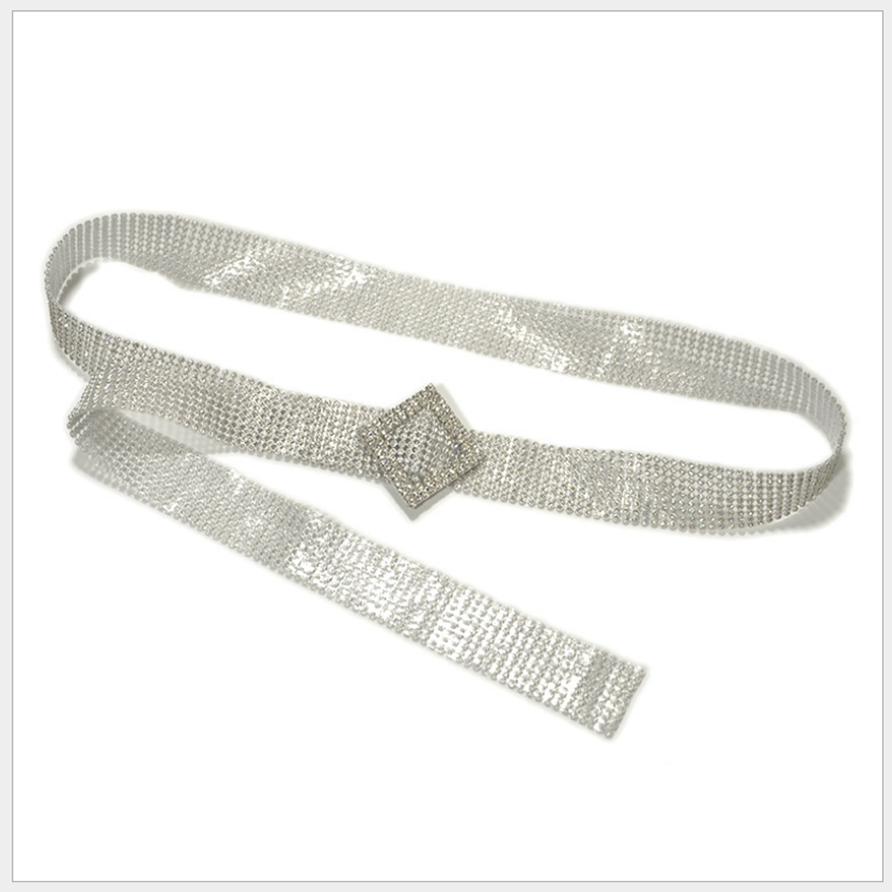 H7830af6449f84e438966c1072353f33bn Crystal Diamond Alloy Waistband Full Rhinestone Luxury Wide Party Belt