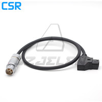 S104-Z-040-80 3 Pin dişi konnektör d-tap Phantom için esnek 4K güç kablosu