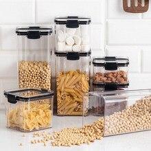 kitchen organizer and storage container food box rangement cuisine pojemniki kuchenne boite alimentaire conservation plastic jar