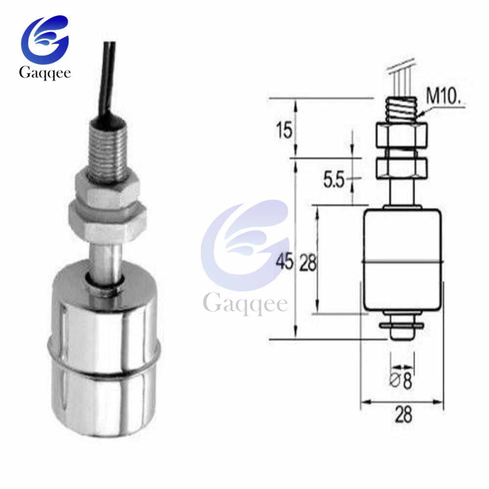 Stainless  Vertical Liquid Water Level Sensor Controller Internal Float Sensor Switch  Automatic Water Pump Controller 220V 45mm