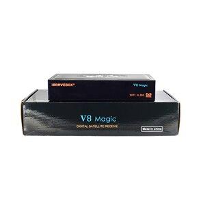 Image 5 - Ibravebox V8 Magic Satellietontvanger Digitale H.265 Dvb S2 Ingebouwde Wifi Receptor Azamerica Tv Tuner Cccam Iptv Tv wifi Ontvanger