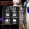 Bluetooth Mp3 Music Player Hifi Metal Portable Walkman with Fm Radio Recording Built-in Speaker Touch Key 1.8 Inch Tft Screen Electronics